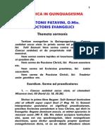 1195-1231, Antonius Patavinus, Sermo 003 Dominica in Quinquagesima, LT