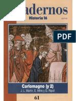 Cuadernos Historia 16, nº 061 - Carlomagno II