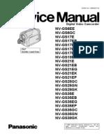 Panasonic Nv Gs6,Gs17,Gs18,Gs21,Gs25,Gs28,Gs35,Gs38