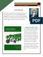 Newsletter - December 2013