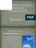Tratamiento de Aguas Potables y Residuales Modificado