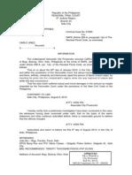Rape Information sample