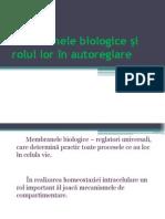 membrana biologice