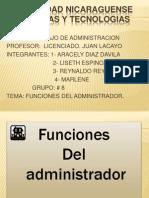 Funciones de La Administracion