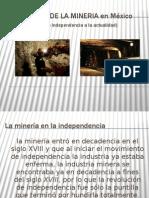 Avances DE LA MINERIA en México