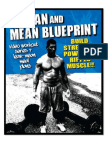 Lean and Mean Blueprint Manual