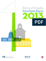 District of Columbia School Equity Reports 2013