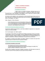 chapitre 5 les politiques économiques