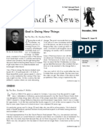 St. Paul's News - December, 2006