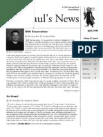 St. Paul's News - April, 2008