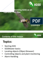 Running IGSS as an Operator Part One -scada