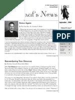 St. Paul's News - September, 2008