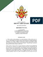 Comendio de Enciclica Caritas en Veritate