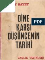 185291562-Dine-Karşı-Duşuncenin-Tarihi