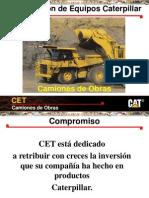 Curso Capacitacion Camiones Obras Mineros Caterpillar