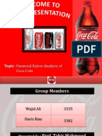 Ratio Analysis of Coca-Cola