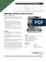 HydroNex  D Direct Series Panels