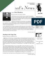 St. Paul's News - June, 2009