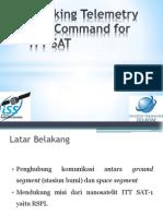 Tracking Telemetry and Command for ITT SAT