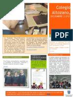 Noticias Diciembre Altozano