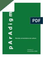 Paradigma nº 2 - LA PASIÓN