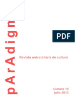 Paradigma nº 15 - LA FRAGILIDAD