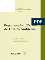Repensando o Estado de Direito Ambiental