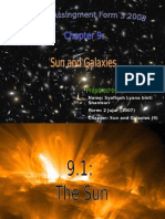 Science Form 3 - Chapter 9 ( Sun and Galaxies )
