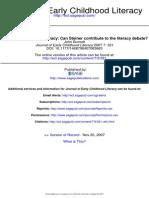 Journal of Early Childhood Literacy 2007 Burnett 321 31
