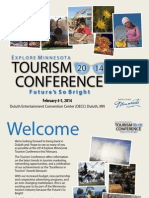 2014 Explore Minnesota Tourism Conference  Brochure
