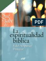 Aizpurua Fidel La Espiritualidad Biblica[1]