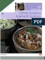 Ízek és kultúrák 3 - Orosz konyha