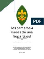 Los Primeros Cuatro Meses de Una Tropa Scout
