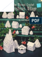 The Thread Crochet Christmas Village