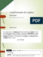 5.1 Laplace Inversa
