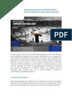 SIDH Avanza en Debate Responsabilidad de Estados en Origen de Empresas
