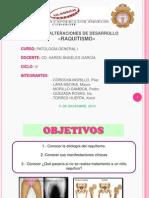 PATOLOGÍA GENERAL I_ ENTREGA DE PRODUCTO III_RAQUITISMO