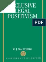 W. J. Waluchow Inclusive Legal Positivism 1994