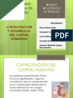 Tema 4 Capacitacion y Desarrollo Del Capital Humano