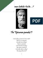 Do Roman Catholics KnOw the Epicurean Paradox?