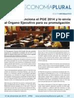 Boletín Economia Plural N° 69