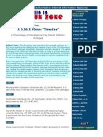 A 5.56 x 45mm 'Timeline' - A Chronology of Development by Daniel Watters - Prologue