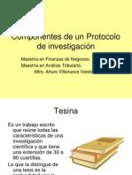 9 Bis  Componentes de un Protocolo de investigación.ppt