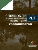 Chevron-Texaco Folleto Espanol