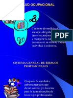 Legislacion Salud Ocupacional