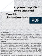 Bacili Gram Negativi de Interes Medical - Familia Enterobacteriaceae