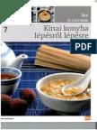 Ízek és kultúrák 7 - Kínai konyha