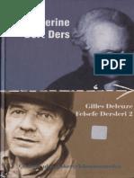 Kant Üzerine Dört Ders - Gilles Deleuze