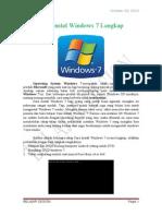Cara Instal Windows 7 Lengkap