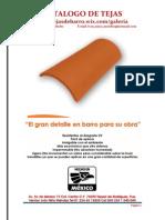 Catalogo de Tejas Con Precio